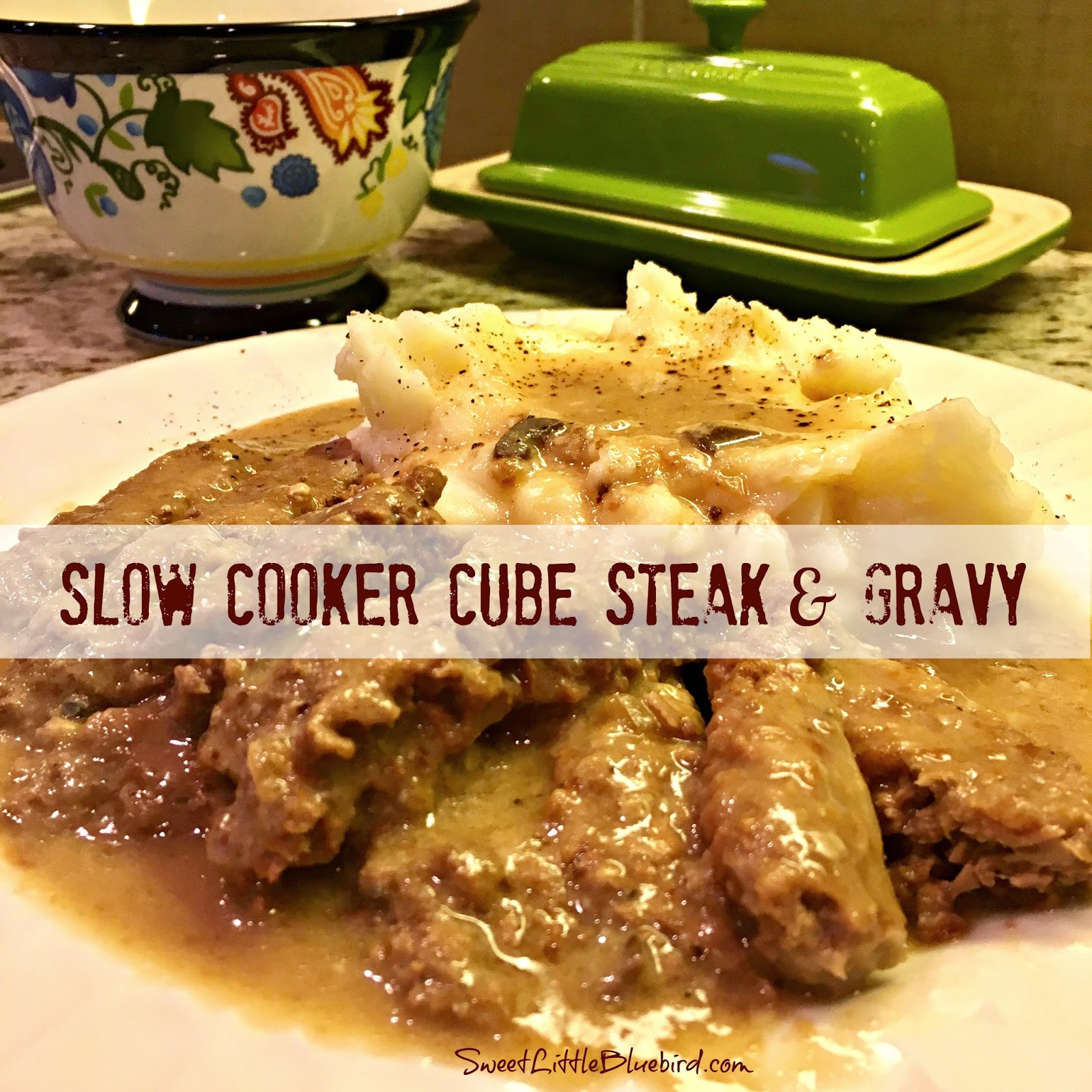 Slow Cooker Cube Steak And Gravy Quick Easy Sweet Little