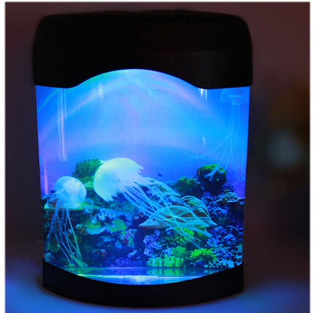Signstek Jellyfish Aquarium Fish Tank