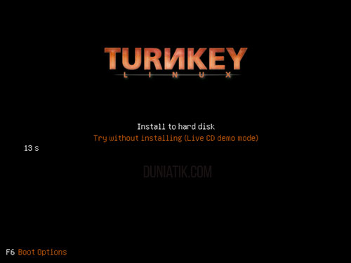 install file server turnkey linux