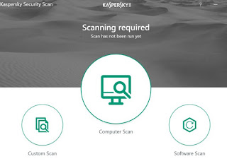 Programma Kaspersky Security Scan