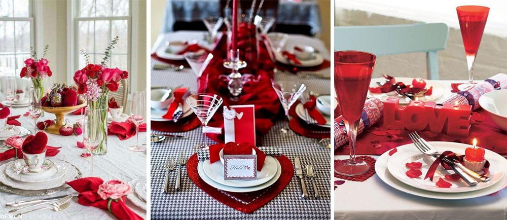 como decorar tu mesa de san valentin estilo clasico rojo y corazones para 14 de febrero fácil y low cost