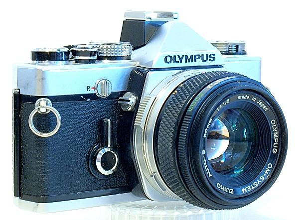 Olympus OM-1n 35mm SLR Film Camera