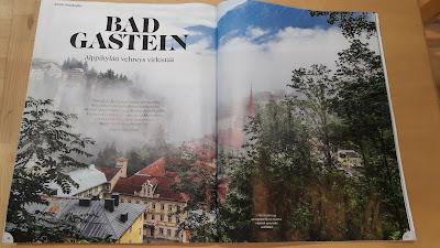 Bad Gasteinissa patikoimassa