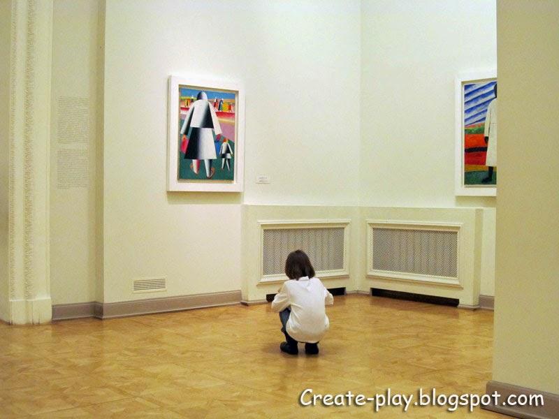 Малевич дети Русский музей