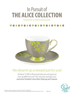 Alice Tea Cup from Steeped Tea