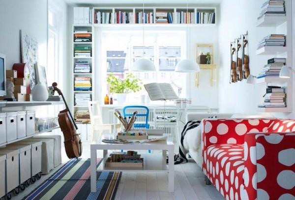 terrific ikea living room design | Hogares Frescos: Los Mejores Diseños de Salas por IKEA 2012