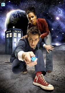 10th Doctor blue suit - season 3 publicity photo
