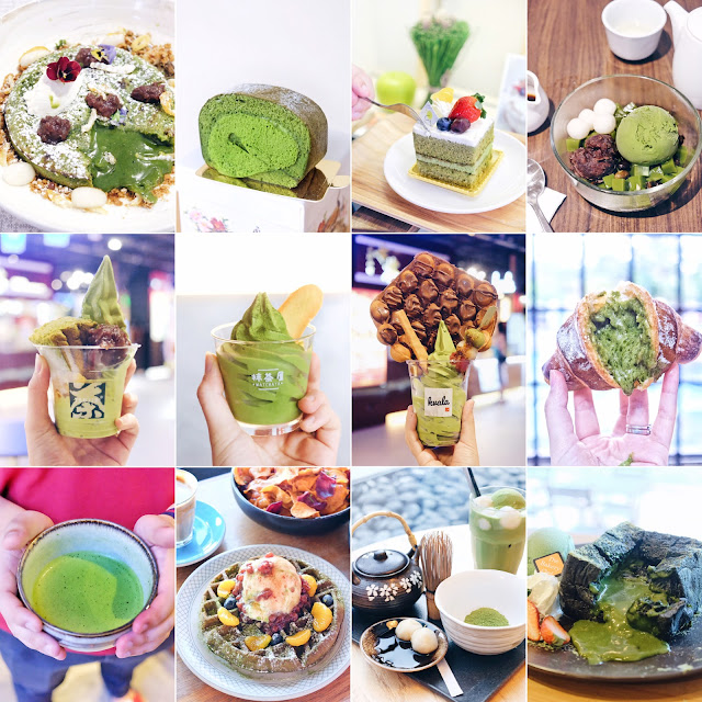 TOP 12 MATCHA Green Tea DESSERTS in Singapore That Will Make You Crave For More!