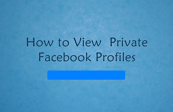 Facebook Private Profile Viewer 2017