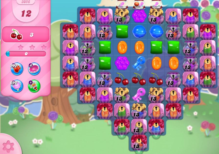 Candy Crush Saga level 3056