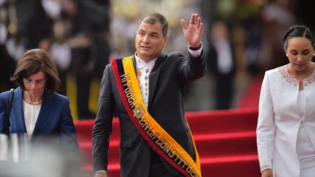 Ecuatorianos impulsan referendo sobre reelección de Correa