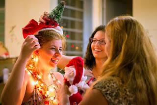 Navidad, felicidad, seres queridos