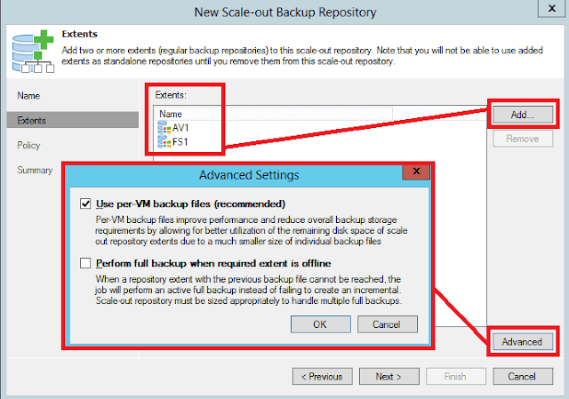 Veeam Backup: Scale-out Repository