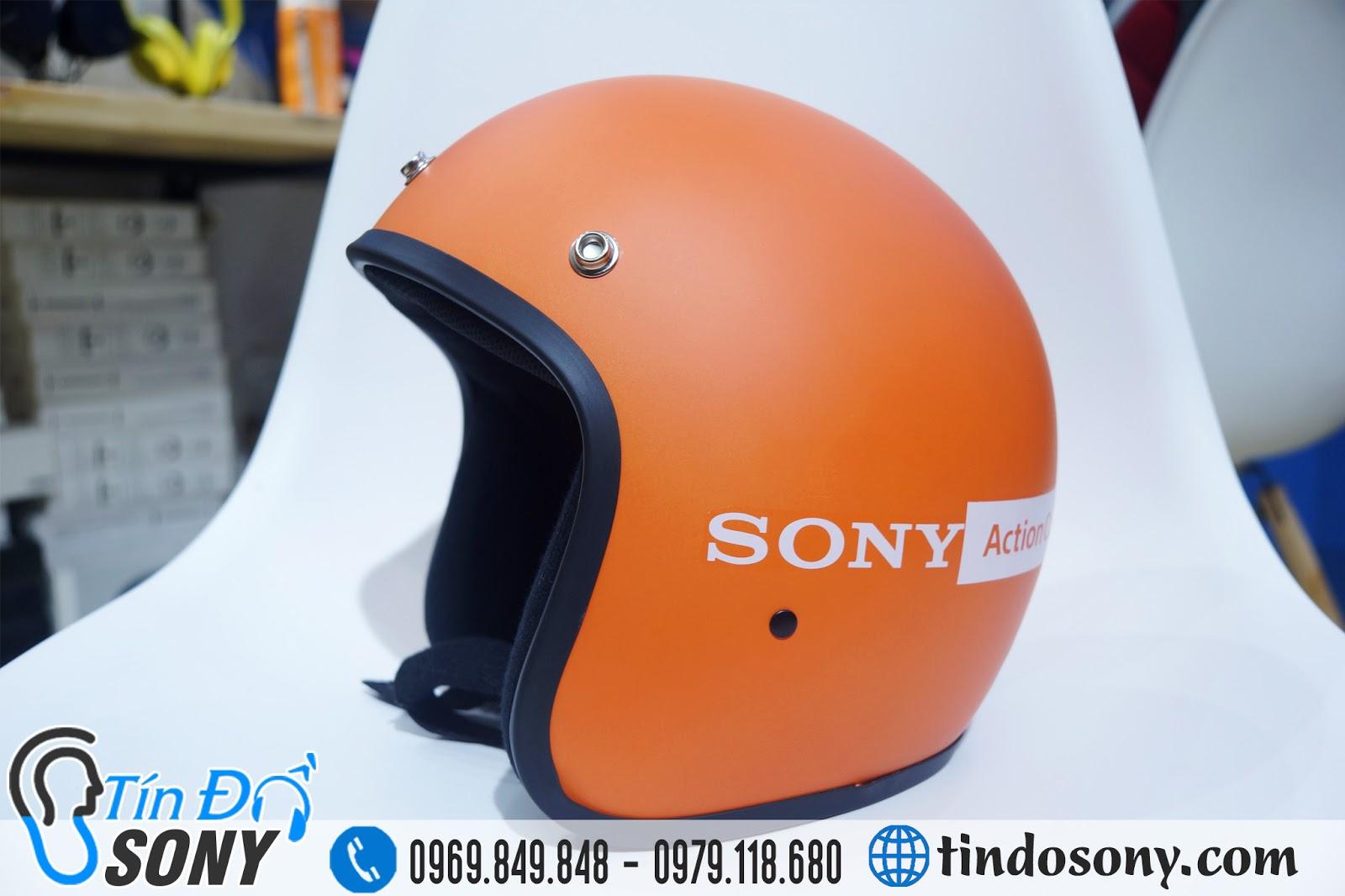 Mũ bảo hiểm 3/4 Sony Alpha chính hãng