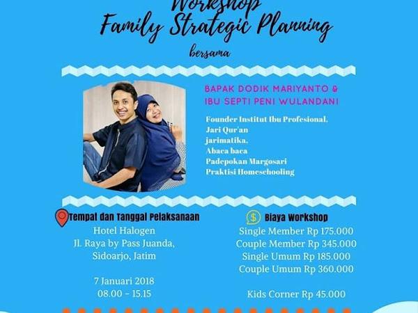Empat Manfaat Penting yang Bisa Diambil dari  Workshop Family Strategic Planning