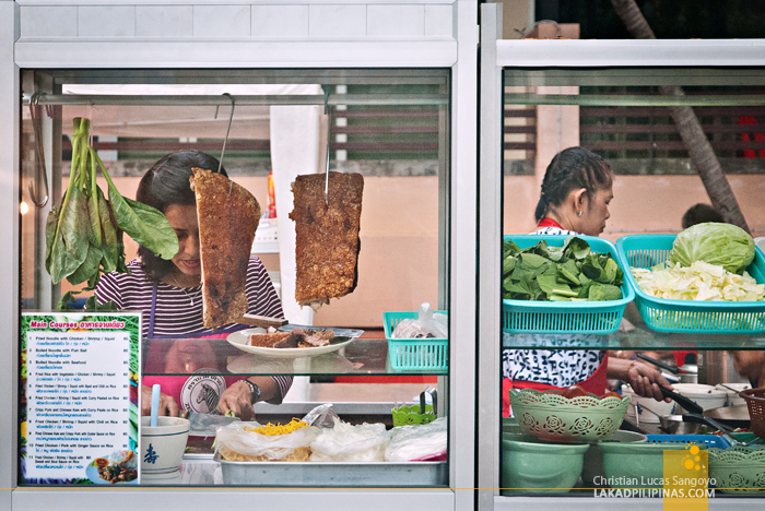 Hawkers Along Ao Nang