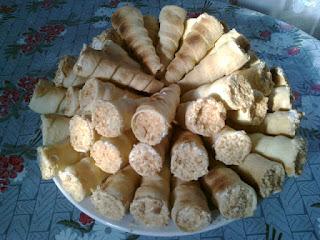 Вкусные трубочки