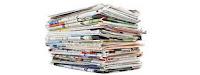 अंग्रेजी और हिंदी के अखबार और पत्रिकायों  बहुत विरोधाभास हैं