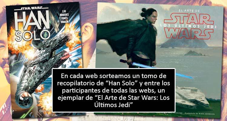 Premios concurso Han Solo
