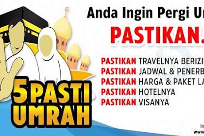 Biar gak Tertipu lagi, ini 25 Travel Haji dan Umrah Ini Sudah Dicabut Izinnya