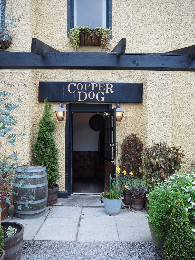 Entrance to the Copper Dog