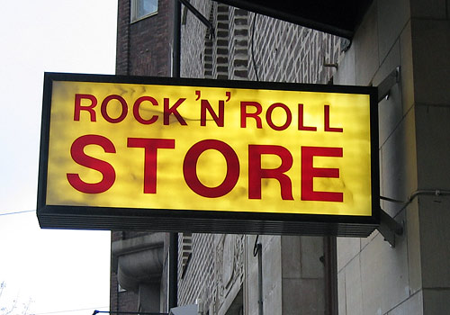 Rock And Roll Store