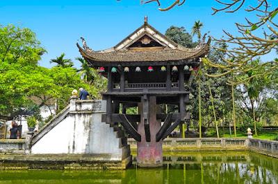 one pillar Pagoda di Hanoi