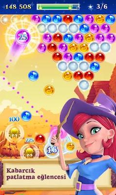 bubble witch 2 saga hile apk indir