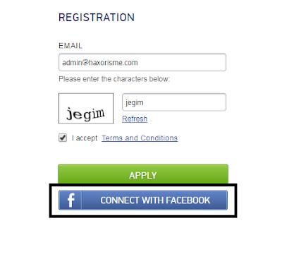 Mendaftar Mgid Melalui Facebook