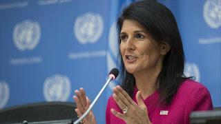 Postura voluble de EEUU: Haley ve a Al-Asad disuasión para la paz