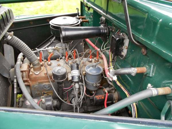 1951 Chevy Truck Wiring Harness Rare 1951 Dodge B Series Dually Pickup Truck Auto