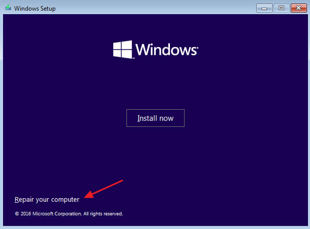 Memperbaiki Masalah Bootloader di Windows - Repair your computer