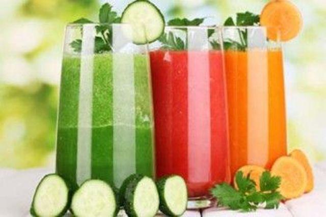 Jus Sayur - Minuman Obat Buatan Sendiri Untuk Menurunkan Berat Badan