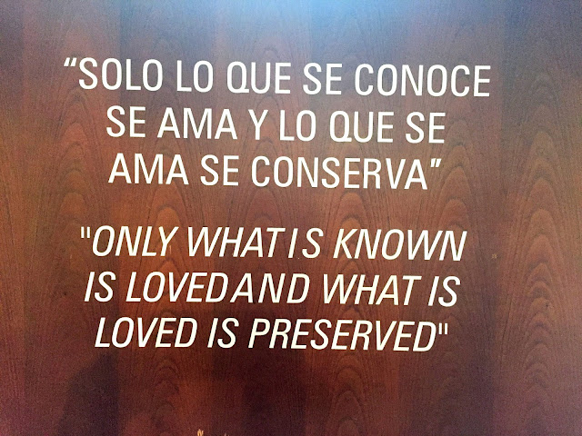 Only what is known is loved...