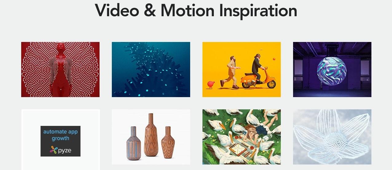 Tempat Terbaik Untuk Menemukan Inspirasi Motion Graphics