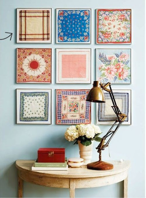 Wall Decor With Cloth : Little treasures fabulous fabric scraps ideas