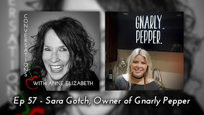 Photo of podcast guest Sarah Gotch, Owner of Gnarly Pepper