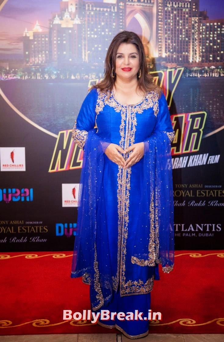Farah Khan, Happy new Year Dubai Premiere Photos