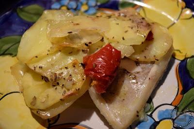 Pancetta di baccalà e patate