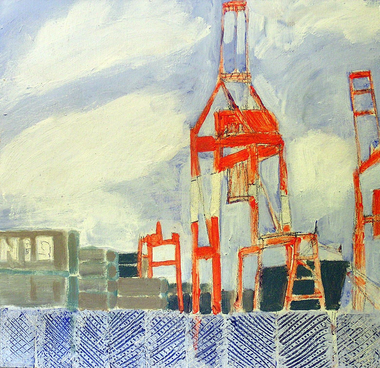 Halifax Harbour, Cranes