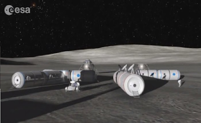 Russia and Europe have on track to make plans for a permanent human-settlement on the moon