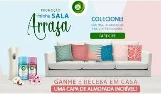 Cadastrar Promoção Air Wick Compre Ganhe Capa Almofada - Minha Sala Arrasa