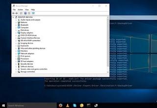 Cara Backup Driver Windows 10 Tanpa Software