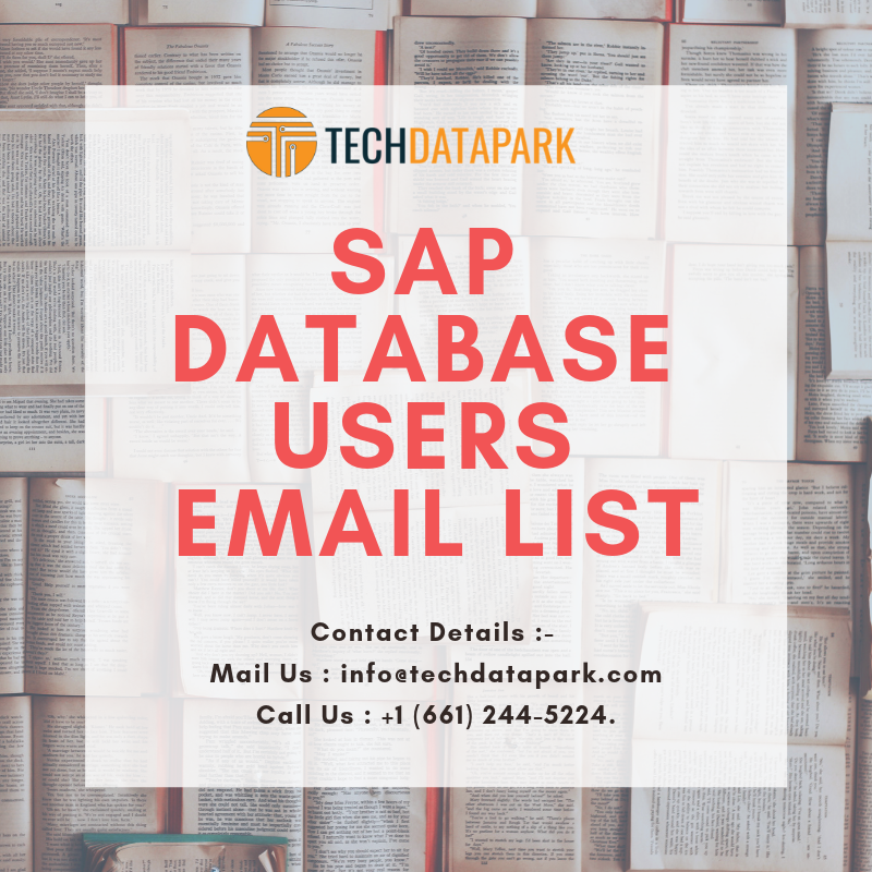 Who are the best SAP Database Users Email list providers in