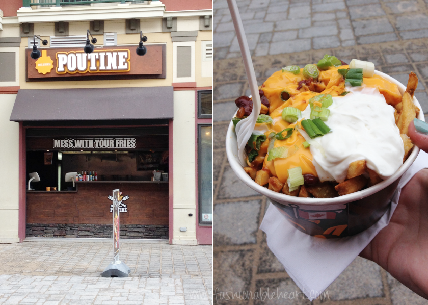 blue mountain village ontario canada travel food mile high poutine