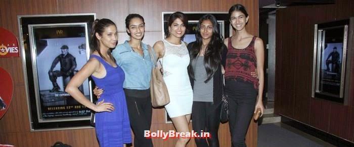 Prachi Mishra, Dayana Erappa, Parvathy Omanakuttan, Krithika Babu, Reha Sukheja, Parvathy Omanakuttan, Purva Rana images in Tight Dresses from Pizza 3d Screening