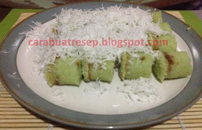 Foto Resep Kue Putu Bambu Tepung Beras Isi Gula Merah Tabur Parutan Kelapa Sederhana Spesial Asli Enak