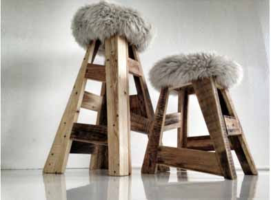 como reciclar burros de madera usados en construcción, que puedo hacer con los burros usados para la construccion son de madera, convertir un burro de madera en un mueble