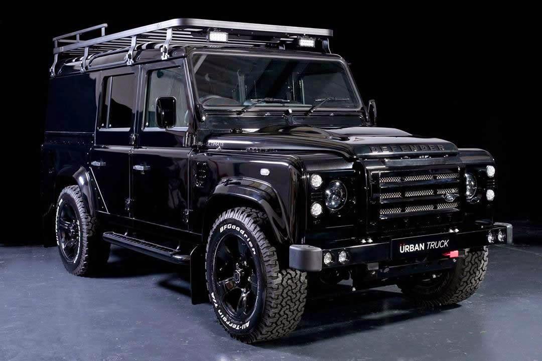 Land Rover Truck >> Otomobil Gunlukleri Land Rover Defender Urban Truck
