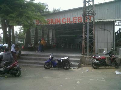 Alamat Stasiun Cilebut